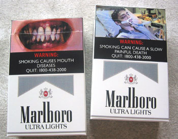 Fines for Cigarettes Box without Mandatory Health Warning Labels in Singapore